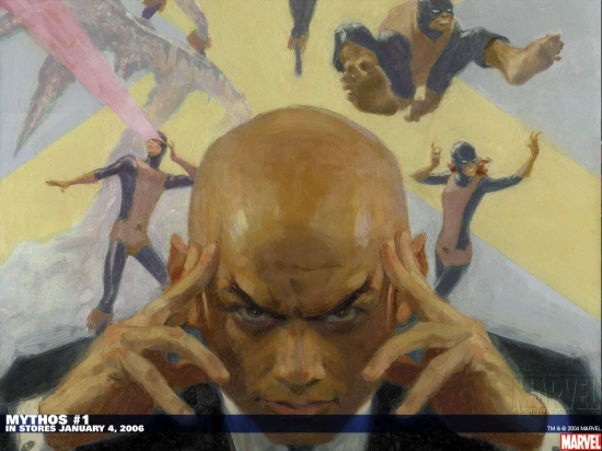 MYTHOS: X-MEN 1 (2006) #1 Wallpaper