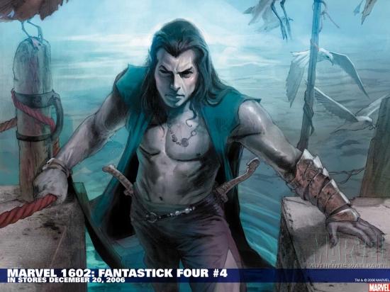 Marvel 1602: Fantastick Four (2006) #4 Wallpaper