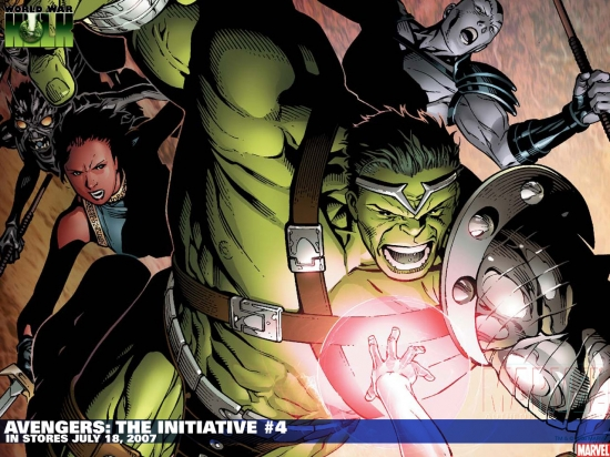 Avengers: The Initiative (2007) #4 Wallpaper