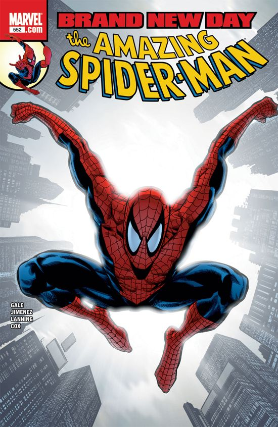 Amazing Spider-Man (1999) #552