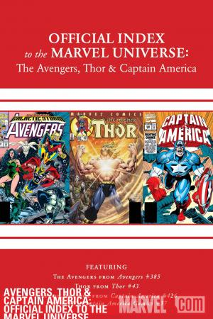 Avengers, Thor & Captain America: Official Index to the Marvel Universe (2010) #12