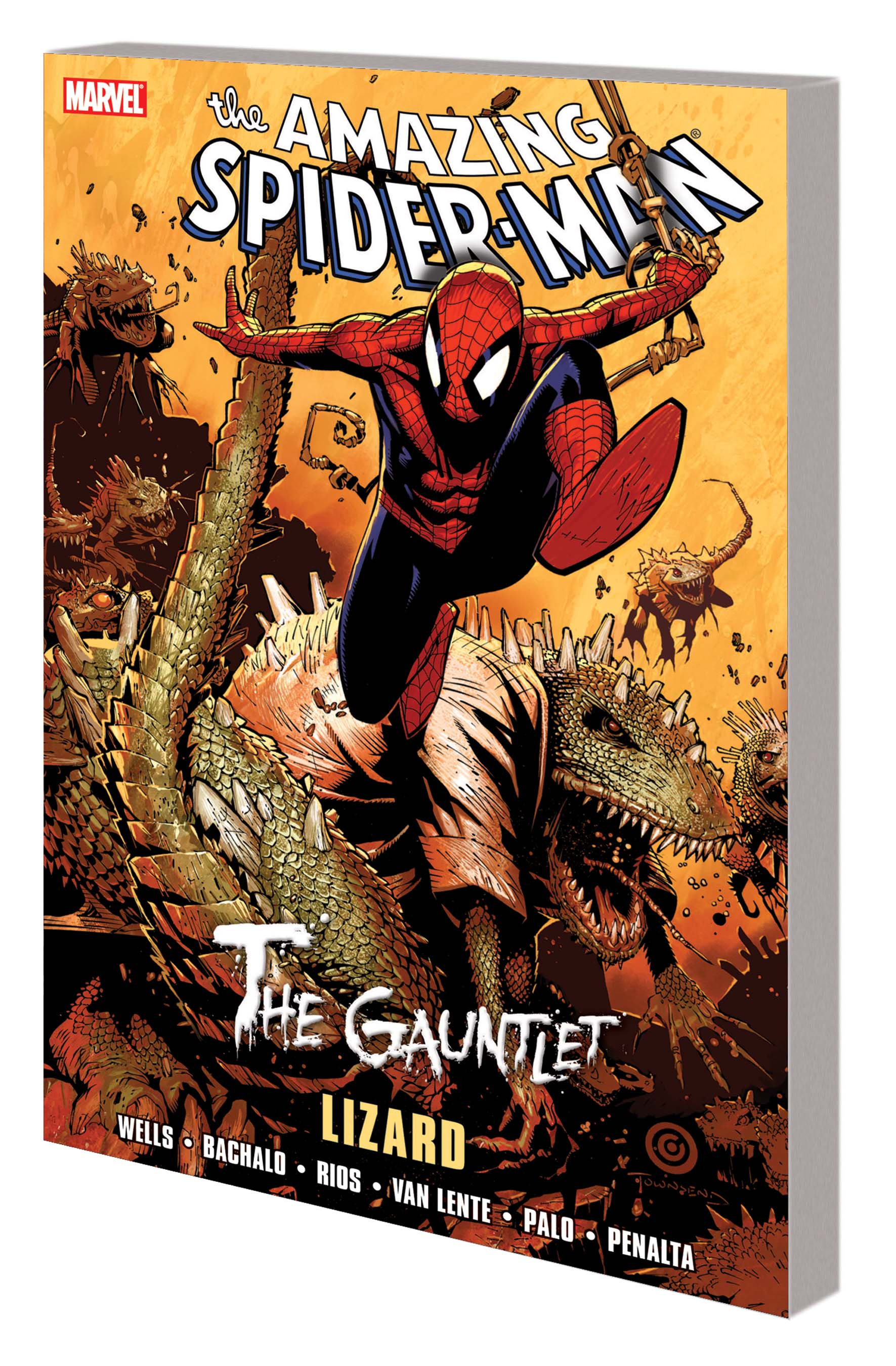 SPIDER-MAN: THE GAUNTLET VOL. 5 - LIZARD  (Trade Paperback)