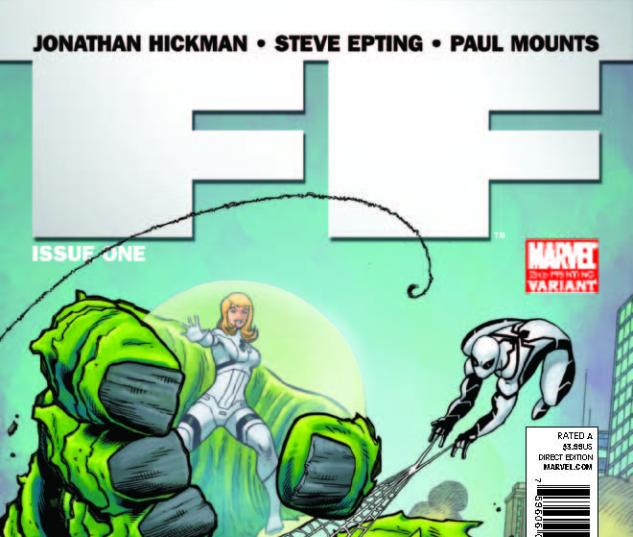 Ff (2010) #1, 2nd Printing Mcguinness Variant