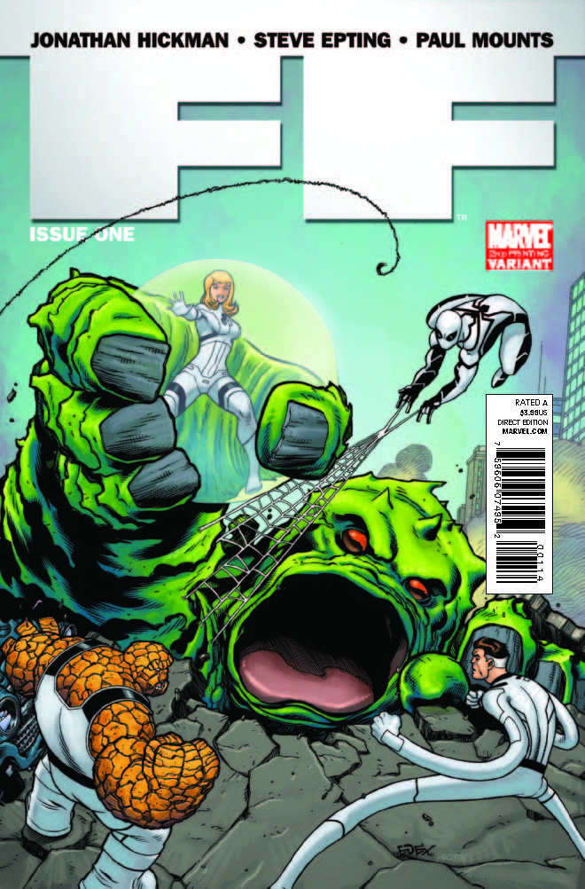 FF (2011) #1 (2nd Printing Mcguinness Variant)