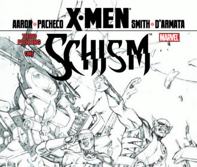 X-MEN SCHISM 1 3RD PRINTING VARIANT