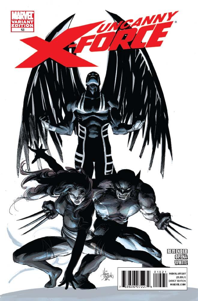 Uncanny X-Force (2010) #15 (Architect Variant)