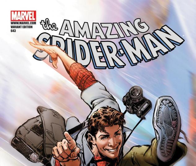 Amazing Spider-Man (1999) #643, JIMENEZ VARIANT