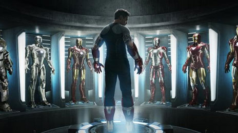 New Iron Man 3 Movie Poster