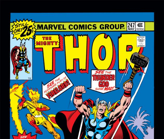 Thor (1966) #247 Cover
