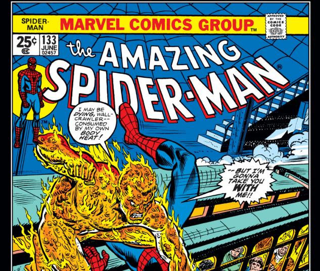 Amazing Spider-Man (1963) #133 Cover