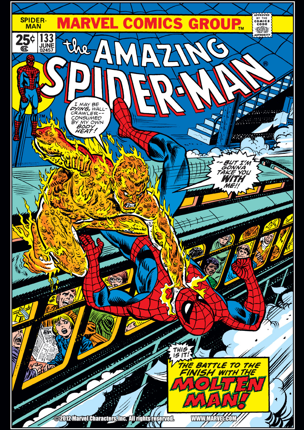 The Amazing Spider-Man (1963) #133