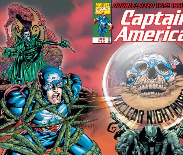Captain America (1998) #12 Cover