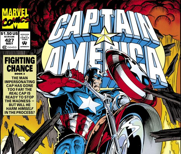 Captain America (1968) #427 Cover