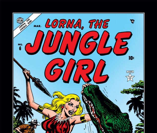 Lorna the Jungle Girl (0000) #6 Cover