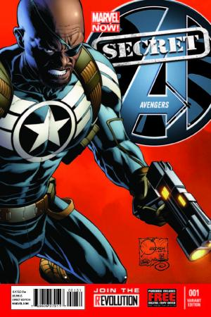 Secret Avengers (2013) #1 (Quesada Variant)