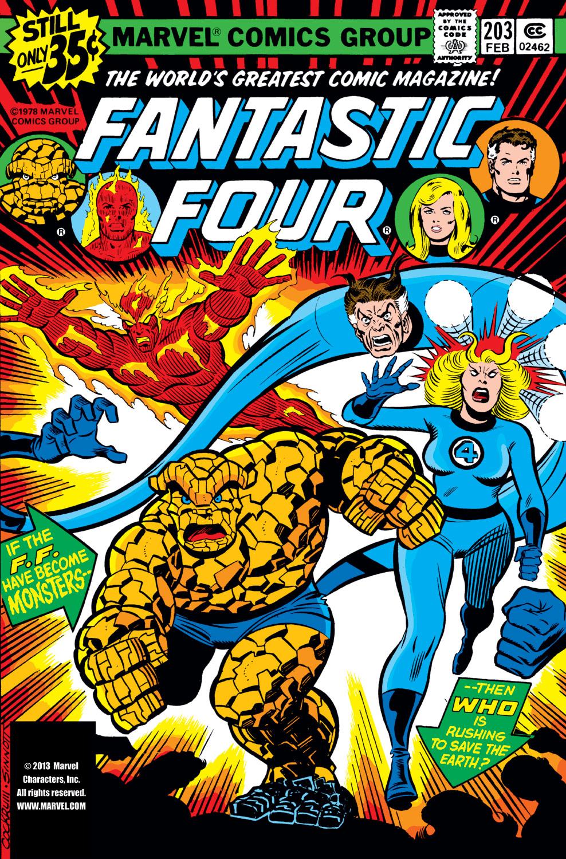 Fantastic Four (1961) #203