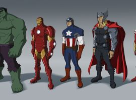 The full character lineup from Marvel's Avengers Assemble