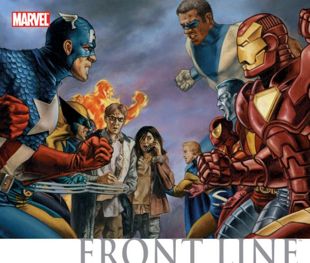 Civil War: Front Line HC