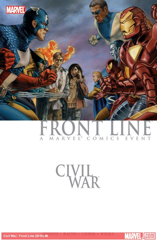 Civil War: Front Line Book 1 (Trade Paperback)