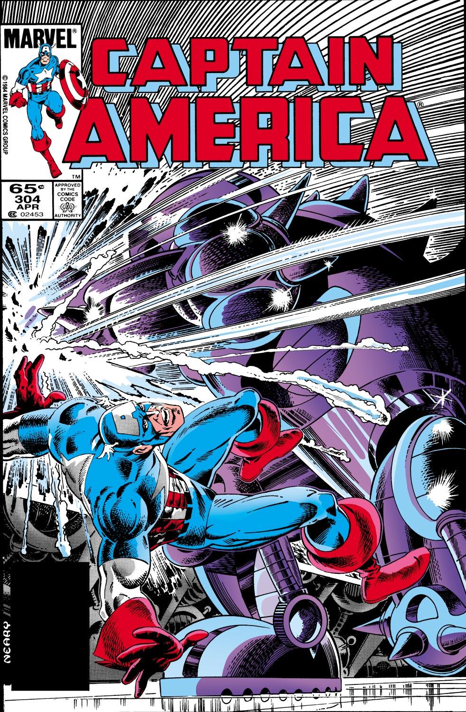 Captain America (1968) #304