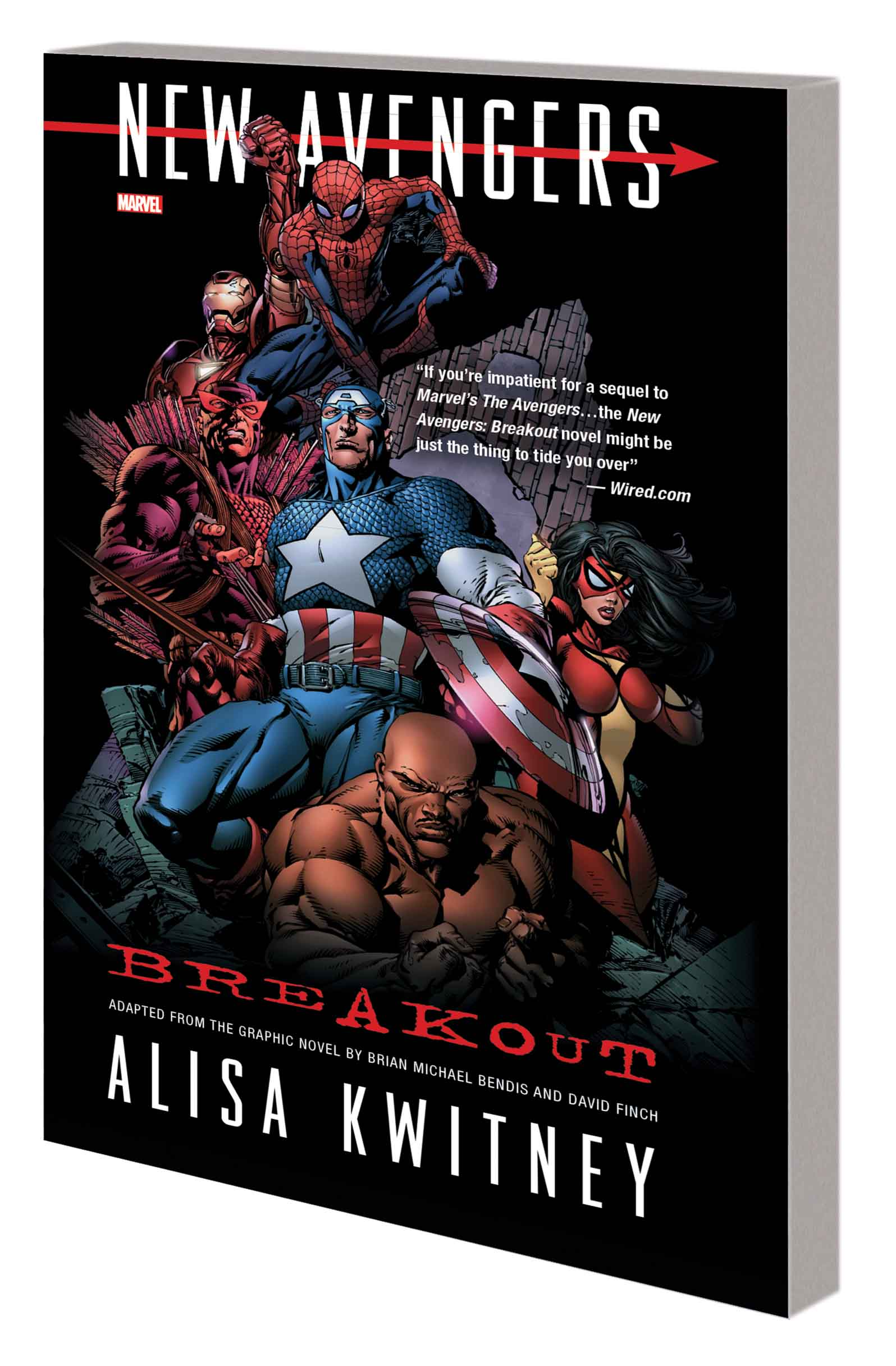 NEW AVENGERS: BREAKOUT PROSE NOVEL MASS MARKET PAPERBACK (Trade Paperback)