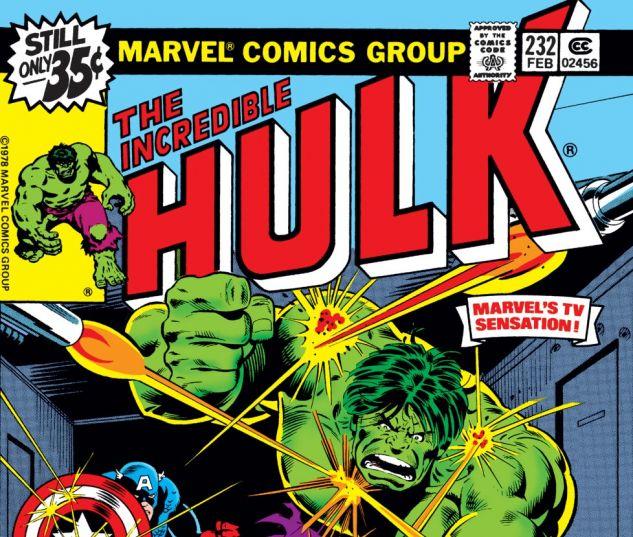 Incredible Hulk (1962) #232 Cover