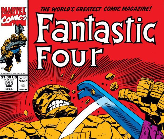 Fantastic Four (1961) #355 Cover