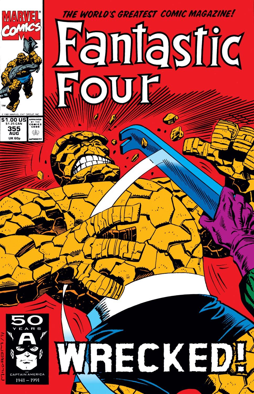 Fantastic Four (1961) #355