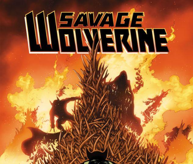 SAVAGE WOLVERINE 13 (WITH DIGITAL CODE)