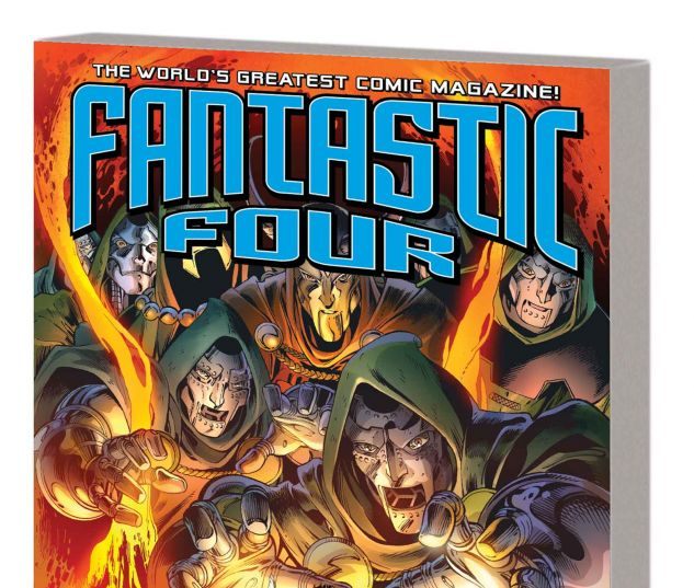 FANTASTIC FOUR VOL. 3: DOOMED TPB (MARVEL NOW)