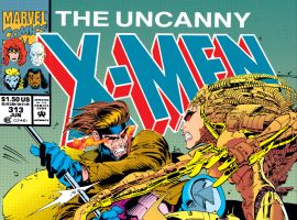 Uncanny X-Men (1963) #313 Cover