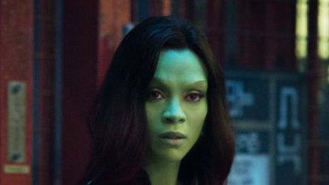 Marvel's Guardians of the Galaxy - Zoe Saldana Interview master