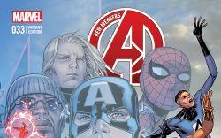 NEW AVENGERS 33 CHEUNG END OF AN ERA VARIANT (WITH DIGITAL CODE)