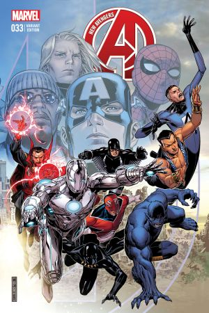 New Avengers #33  (Cheung End of an Era Variant)
