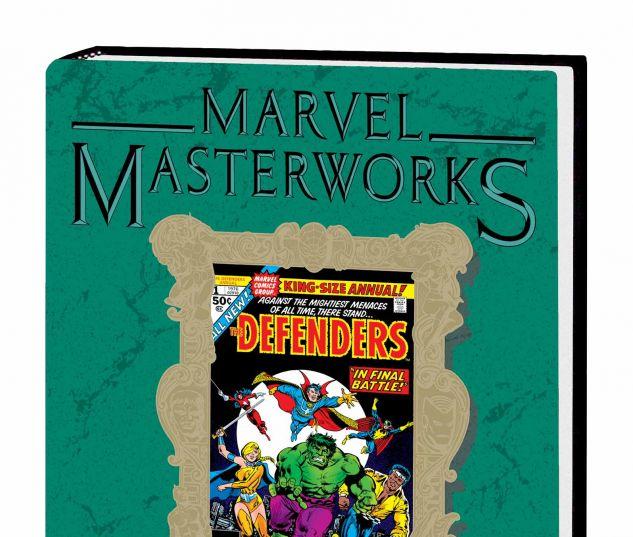 MARVEL MASTERWORKS: THE DEFENDERS VOL. 5 HC VARIANT (DM ONLY)