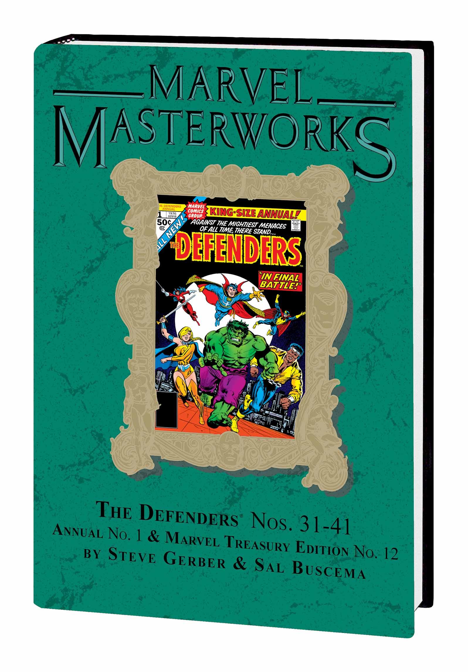 Marvel Masterworks: The Defenders (Hardcover)