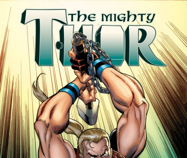 Mighty Thor (2015) #2 variant cover by Ron Frenz