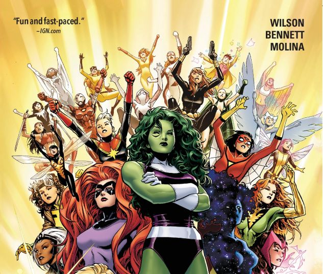cover from A-Force Vol. 0: Warzones! (2015)