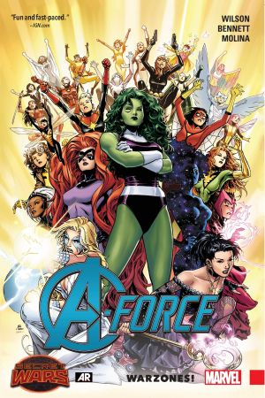 A-Force Vol. 0: Warzones! (Trade Paperback)