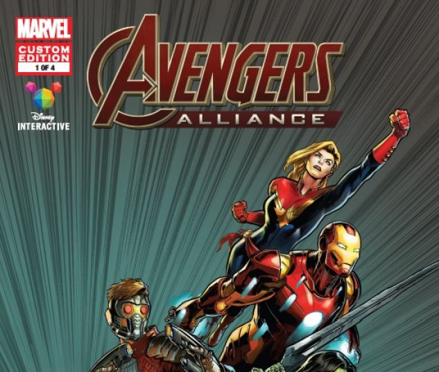 cover to MARVEL AVENGERS ALLIANCE (2016) #1