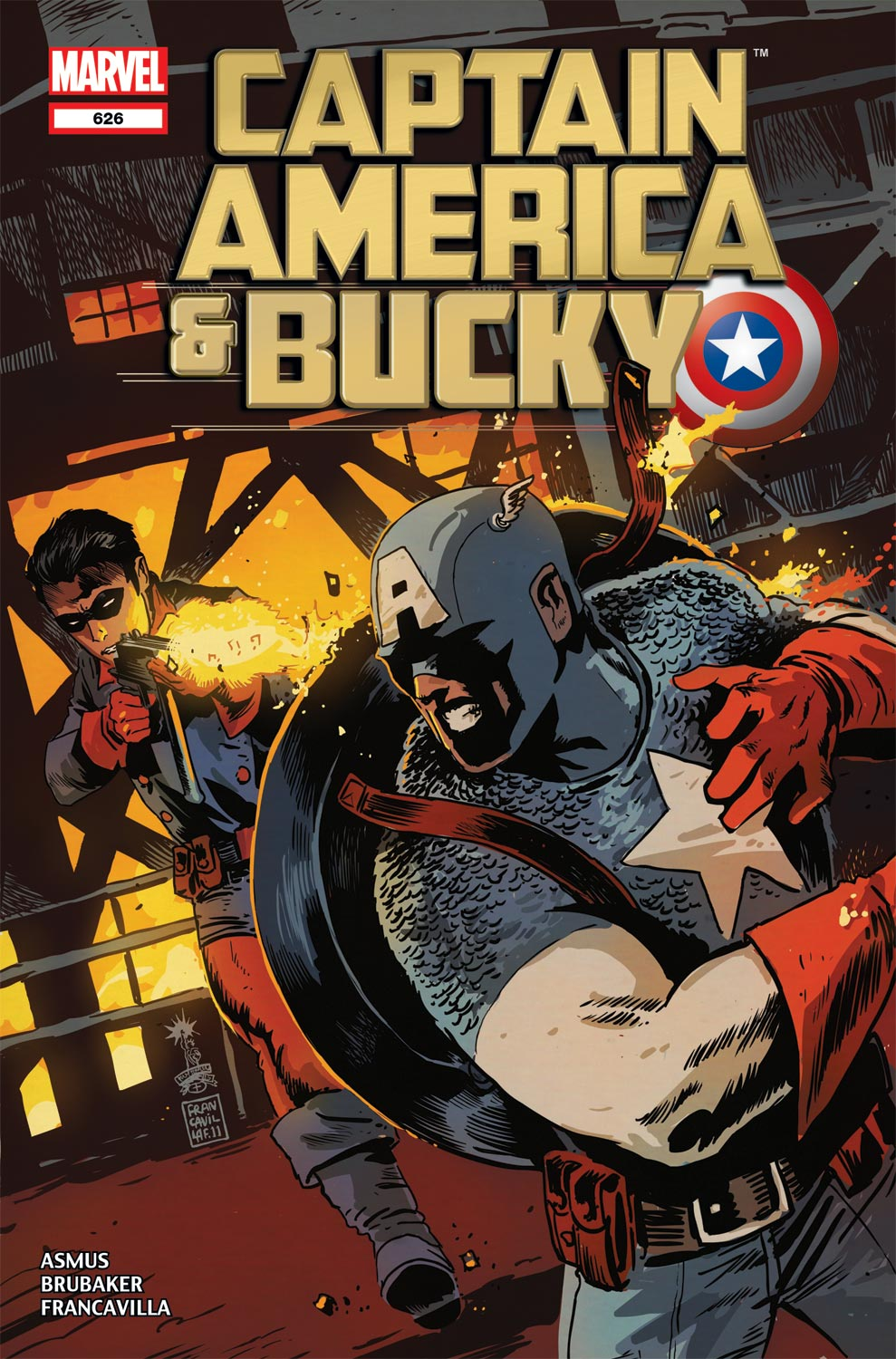 Captain America and... (2012) #626