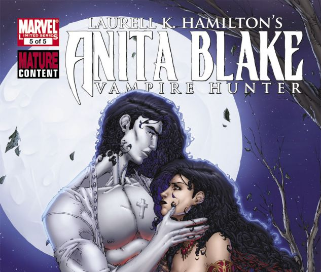 ANITA BLAKE: CIRCUS OF THE DAMNED - THE CHARMER (2010) #5 Cover