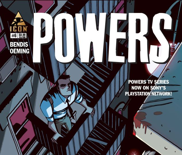 cover from Powers (2014) #6