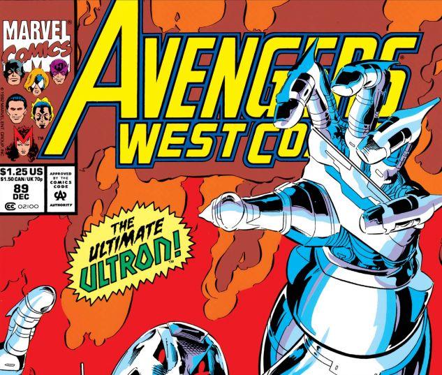 Avengers West Coast (1985) #89