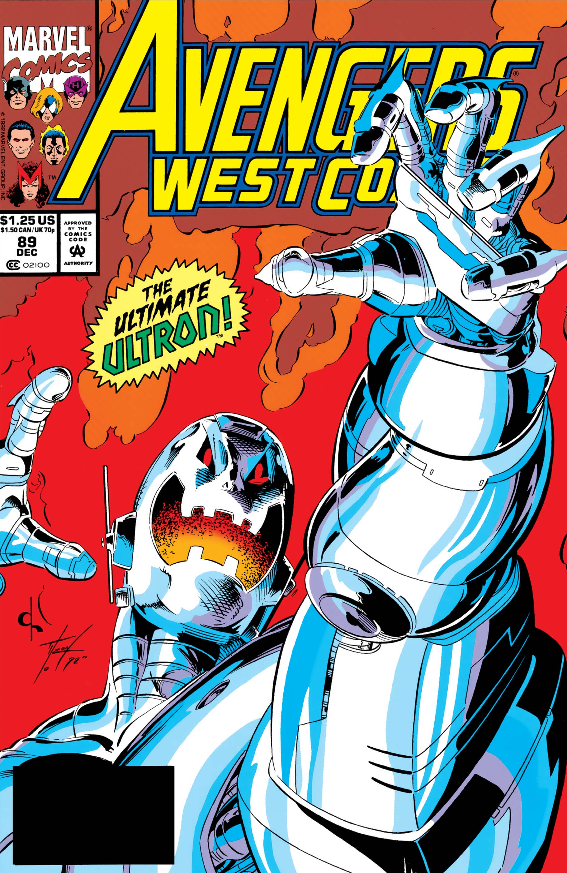 West Coast Avengers (1985) #89