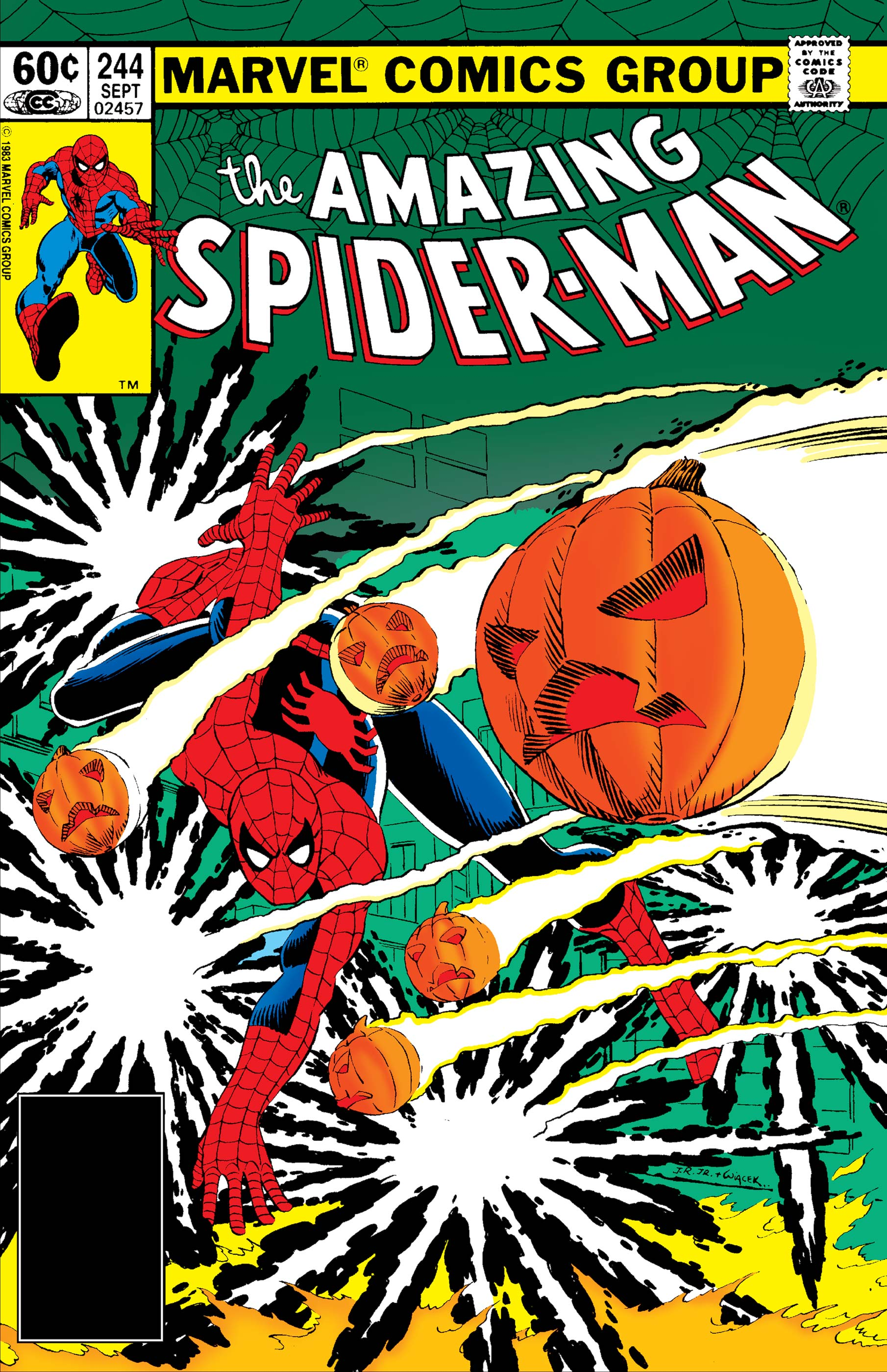 The Amazing Spider-Man (1963) #244