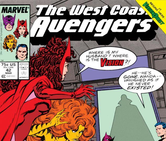 Avengers West Coast (1985) #42
