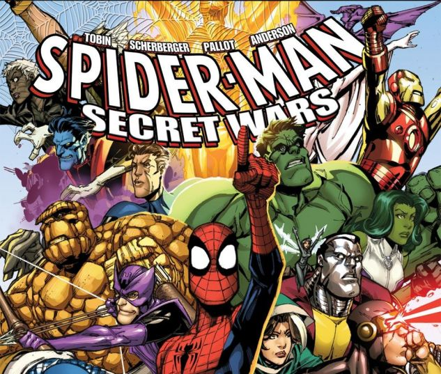 SPIDER_MAN_THE_SECRET_WARS_2009_1