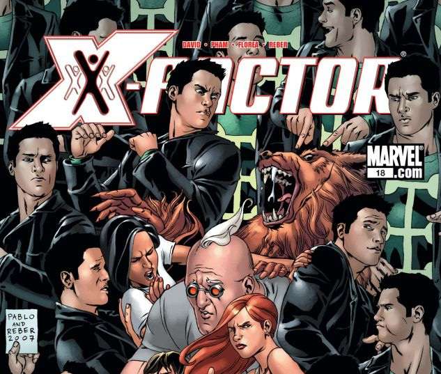 X-FACTOR (2005) #18