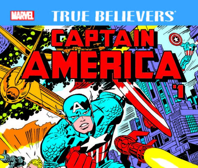 cover from True Believers: Kirby 100th - Captain America (2017) #1